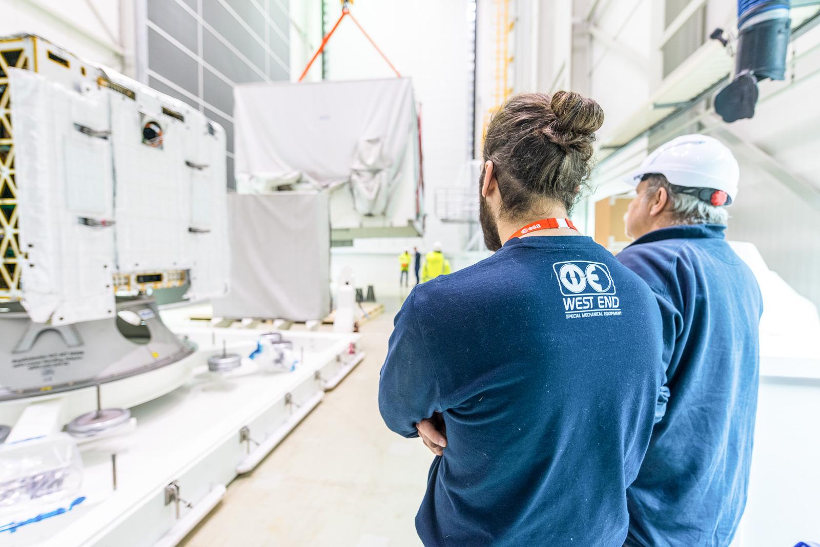 Transportframes (MGSE) voor de ruimtevaart