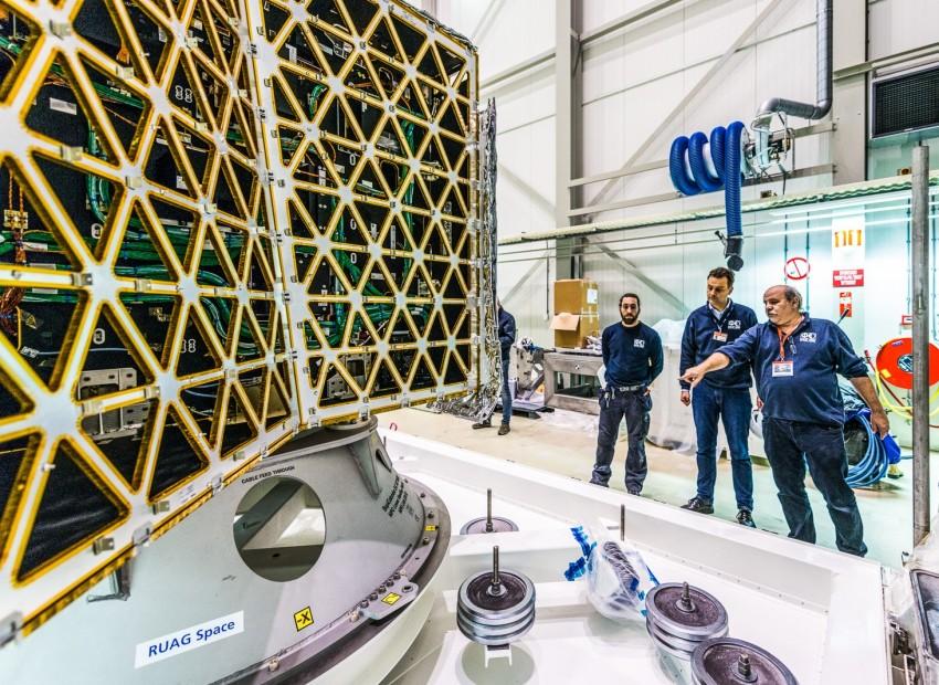 Transportframes voor in de ruimtevaart