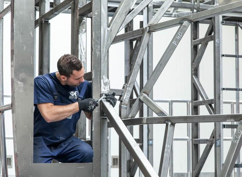 Complexe frames voor wetenschappelijk onderzoek en testopstellingen