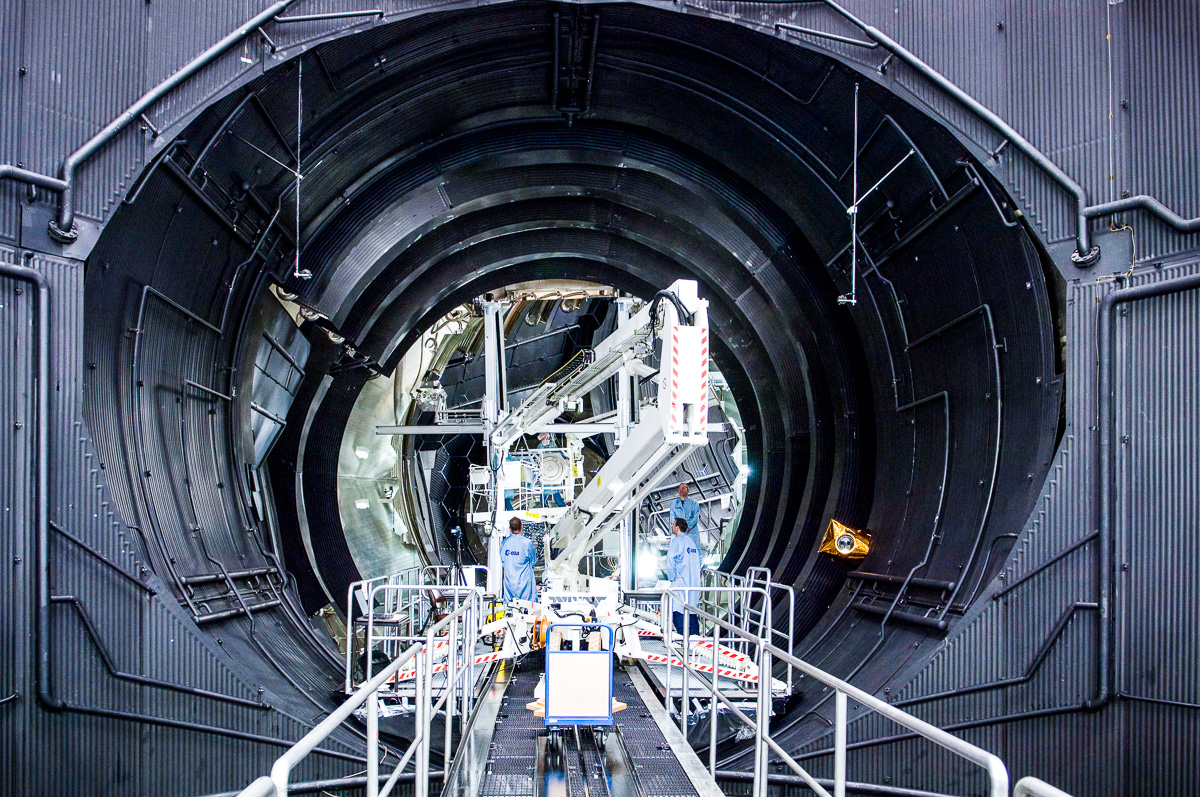 VGM voorzieningen in de ruimtevaartindustrie