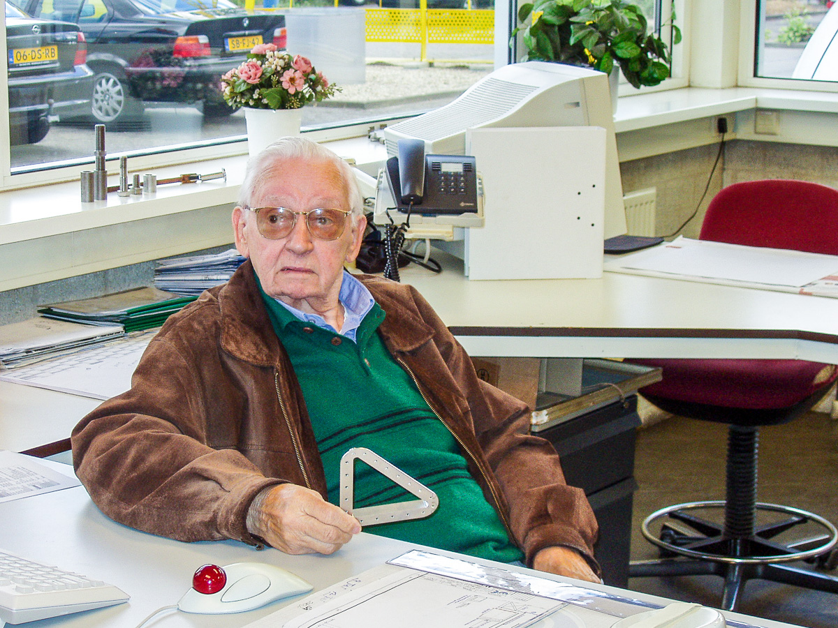 Grootvader Van Berge Henegouwen - de grondlegger van West End Machinefabriek