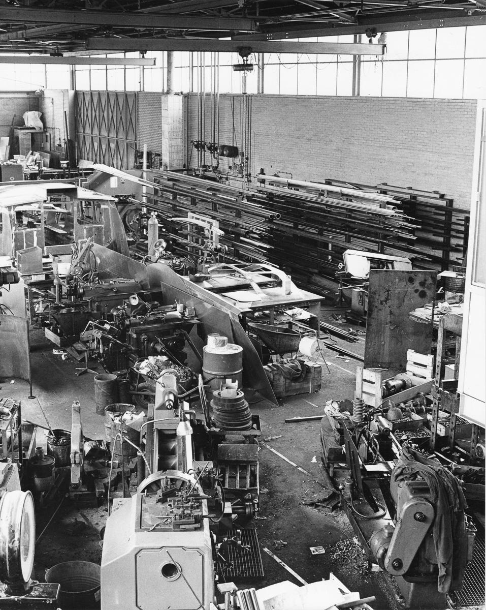 Way back - de hal van West End Machinefabriek