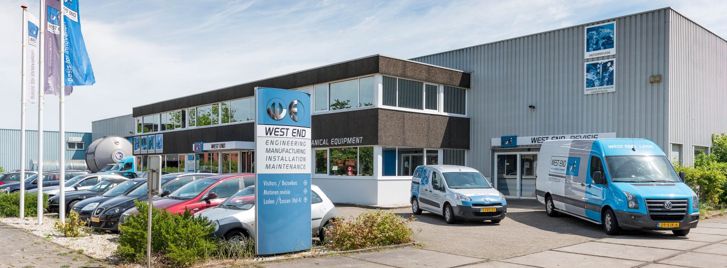 West End Machinefabriek anno 2017 - we maken innovatie mogelijk
