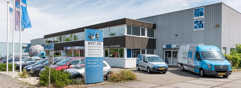 West End Machinefabriek anno 2017 - we maken innovatie mogelijk